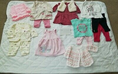 0-3 Months Baby Girl Clothes Bundle