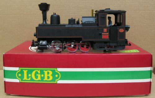 LGB 2071 D 0-6-2 Zillertal Bahn Steam Engine G-Gauge LNIB