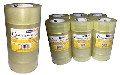 636 Rolls Tape Clear Sealing Tape Industrial Tape Packing Tape Box Wearhouse