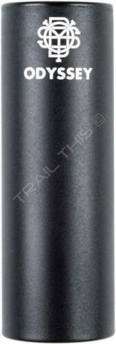 "Odyssey Graduate BMX Bike Peg 4.5"" w/ Plastic Sleeve & 3/8"" Adaptor 14mm Black"