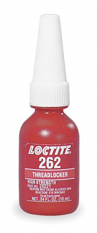Loctite 26221 High Strength 262 Threadlocker, 10ml