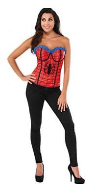 Rubie's Women's Marvel Universe Adult Classic Spider-man Corset, Multi, Large