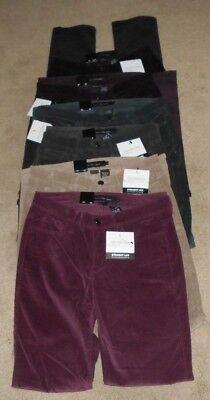 Calvin Klein Straight Leg Corduroy Jeans 6 Colors Asst Sizes NWT -