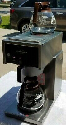 Refurbished Bloomfield 2-burner Commercial Coffee Maker Brewer Model 8543