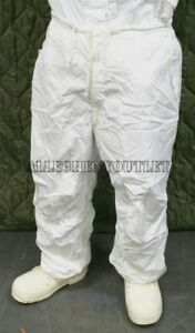 NEW USGI Military Snow Camouflage White Camo Winter PANTS Bottoms Trousers Small