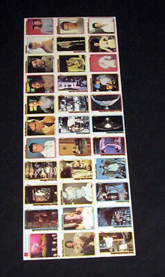1979 Topps Rainbo Star Trek The Motion Picture Uncut Sheet (33 cards)