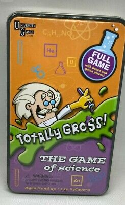 NEW TOTALLY GROSS Board Game of Science Kids Educational Learning SEALED