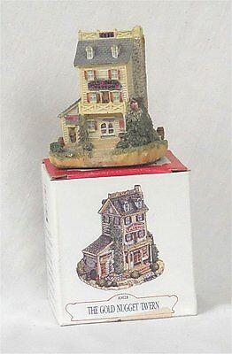 1993 Americana Collection Liberty Falls Gold Nugget Tavern Miniature House