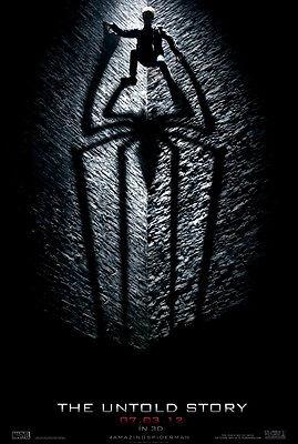 The Amazing Spiderman Movie Poster 2 Sided Original Advance 27x40