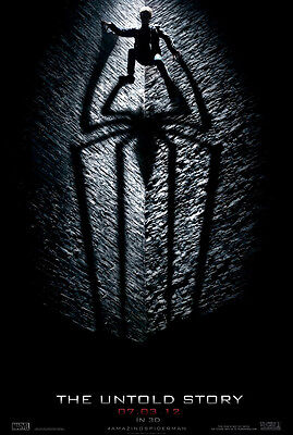 The Amazing Spider-man Movie Poster 2 Sided Original Advance 27x40