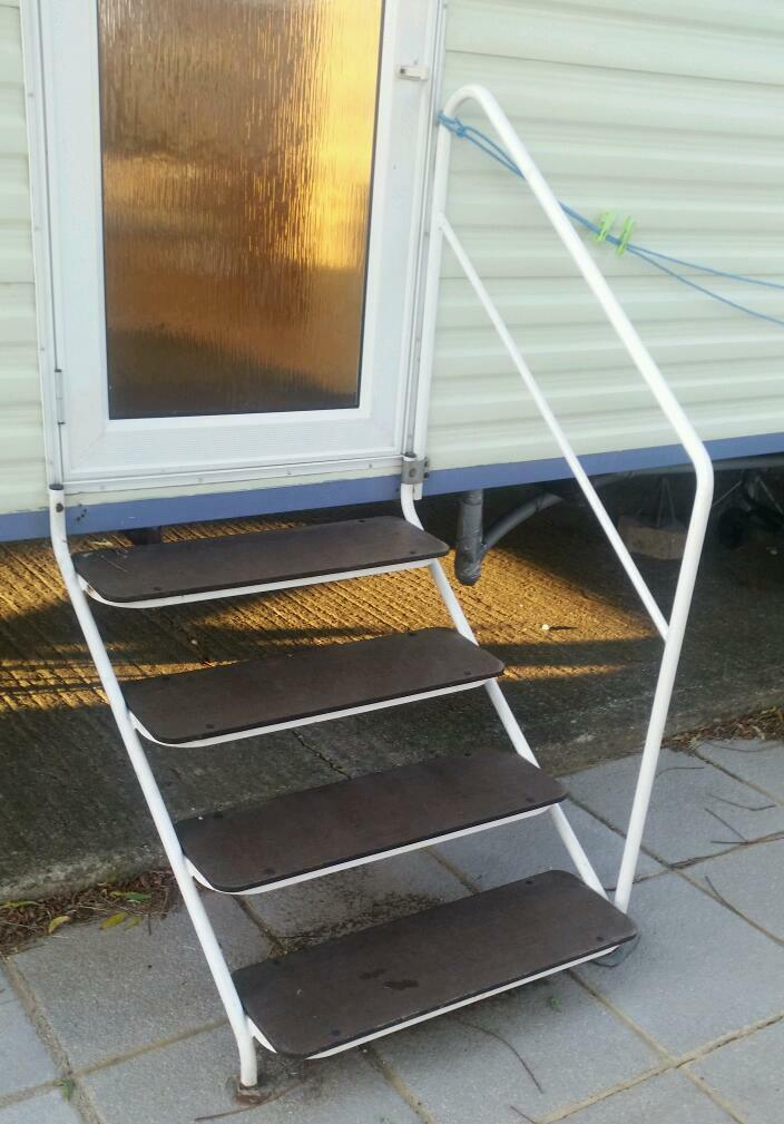 Caravan Steps In St Osyth Essex Gumtree