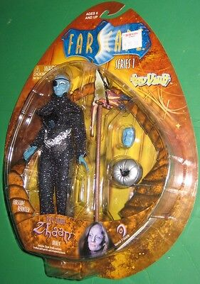 Farscape Zhaan Oralla Action Figure MOC Sealed Toy Vault 2000 Reunited