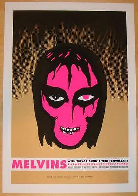 2004 The Melvins - Millvale Silkscreen Concert Poster s/n by Aesthetic Apparatus