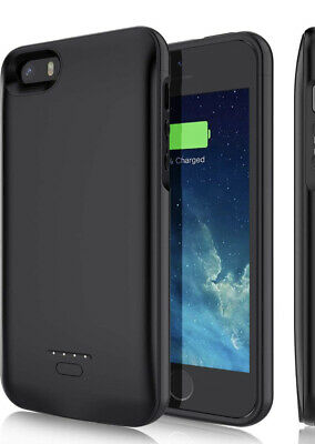YISHDA Battery Case for iPhone 5/5S/SE  Charging Case 4000mAh Battery - New