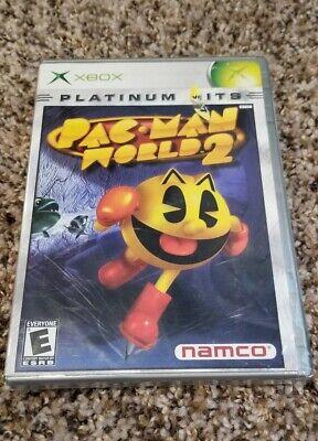 Xbox Pac-Man World 2 Platinum Hits Brand New Factory Sealed Namco