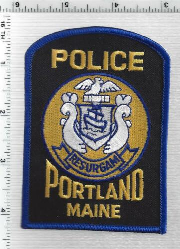 Portland Police (Maine) 4th Issue Shoulder Patch