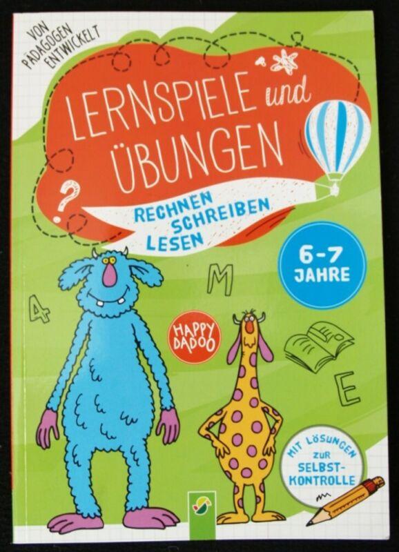 LERNSPIELE & ÜBUNGEN - Rechnen, Schreiben, Lesen; Heft/Buch ***NEU!!!***