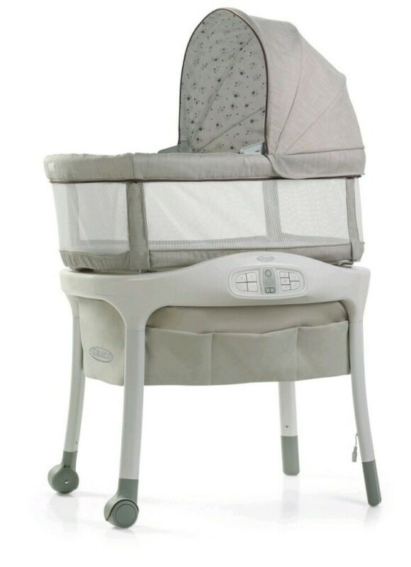 Gracon Sense2Snooze Bassinet Roma BuyBuy Baby Exclusive Cry Detection Technology