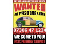 ♻️‼️SELL MY CAR VAN BIKE FOR CASH ANY CONDITION SCRAP DAMAGED NON RUNNING FAST COLLECTION TODAY 6