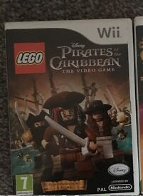 Nintendo Wii game - lego pirates of the Caribbean