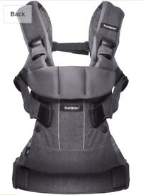 Babybjorn One baby carrier + rain cover