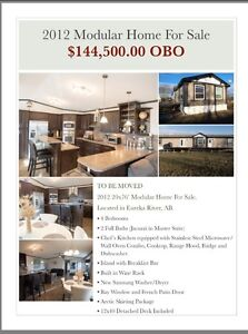 Beautiful 4 Bedroom 2012 Modular For Sale