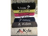 Custom sport towels (free shipping)