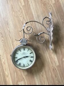 Antique Style Hanging Clock