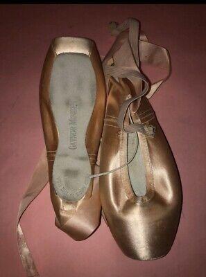 Gaynor Minden Pale Peach 3//4 Pointe Shoe Elastic