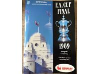 1989 FA Cup Final Programme. Liverpool vs Everton (mint condition)
