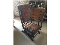 American Antique rocking chair