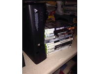 Xbox 360 + 11 Games and accessories
