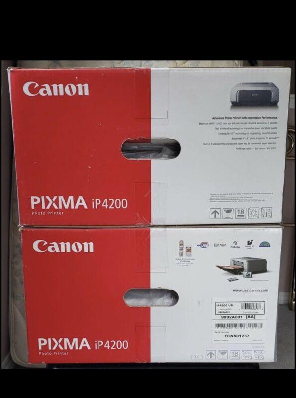 NEW Canon PIXMA iP4200 Photo Inkjet Printer