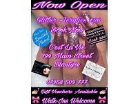 ***Glitter Acrylics ONLY £20***