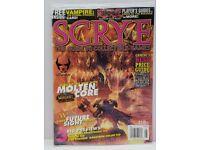 Sealed Jan 2000 With Babylon 5 Promo Card Insert Scrye Magazine #7.1