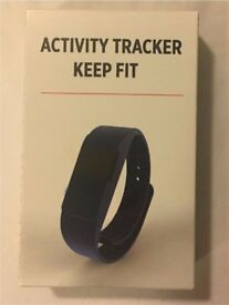 XD collection Fitbit style fitness tracker wristband. Bluetooth, call reminders, steps etc