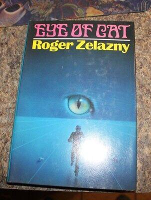 1982 The Eye of the Cat by Roger Zelazny   science fiction HCDJ - f