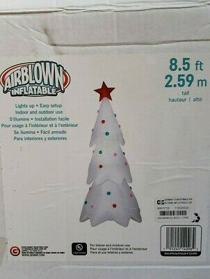 Gemmy 8.5ft Christmas Tree with Ornaments Inflatable