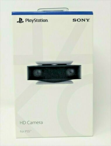 Sony HD Camera for PlayStation 5 - White/Black BRAND NEW OPEN BOX