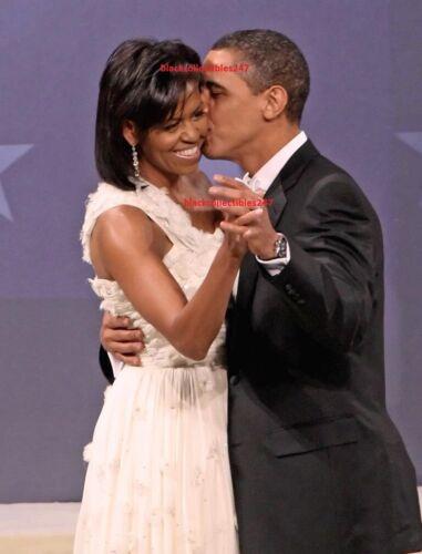 PRESIDENT Barack Obama Photo 8x10 Inaugural Ball 2009 Michelle Obama Memorabilia