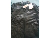 Levis Leather man jacket size S brand new with tags originally from Levis