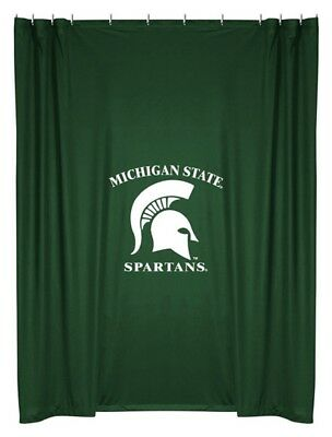 NEW Michigan State University Spartans Fabric Shower Curtain ()