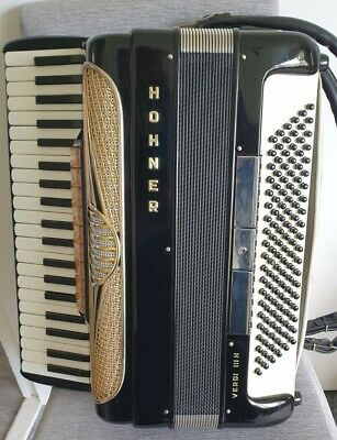 HOHNER VERDI III N 120 Bass Accordion, Excellent Condition