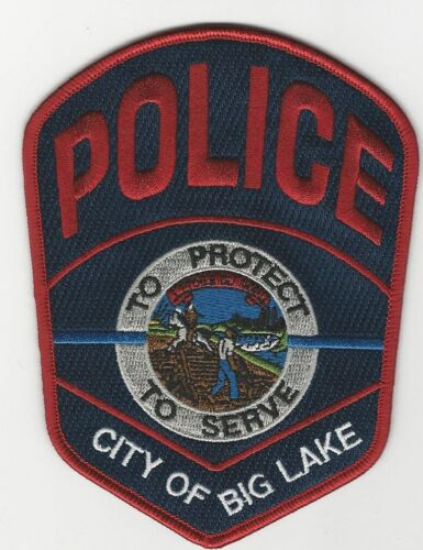 Big Lake Police State Minnesota MN LARGE COLORFUL