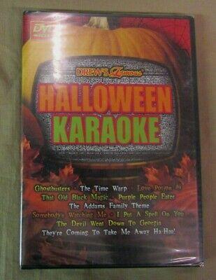 NEW Drews Famous Halloween Karaoke (DVD, 2003) drew's famous Sing Alongs ()