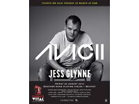 2 x Avicii and Jess Glynne at Tennent's Vital Tickets 26th August 2016