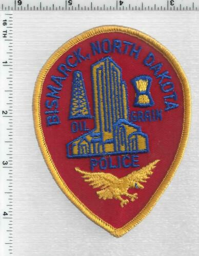 Bismarck Police (North Dakota) 2nd Issue Shoulder Patch