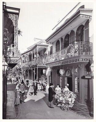 NEW ORLEANS SQUARE Original Vintage 1967 DISNEYLAND Anaheim Walt Disney Photo