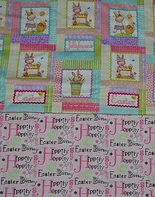 Holiday Easter Prints 100  Cotton Your Choice 1 2 Yard 18  X 44  Joann Vintage