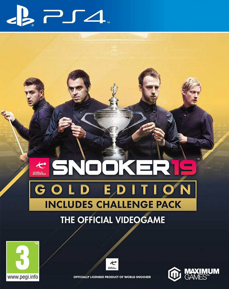 Snooker 19 Gold Edition (PS4)  BRAND NEW AND SEALED - QUICK DISPATCH